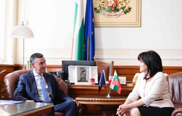 predsednica-parlamenta-bugarske-potvrdila-podrsku-kosovu