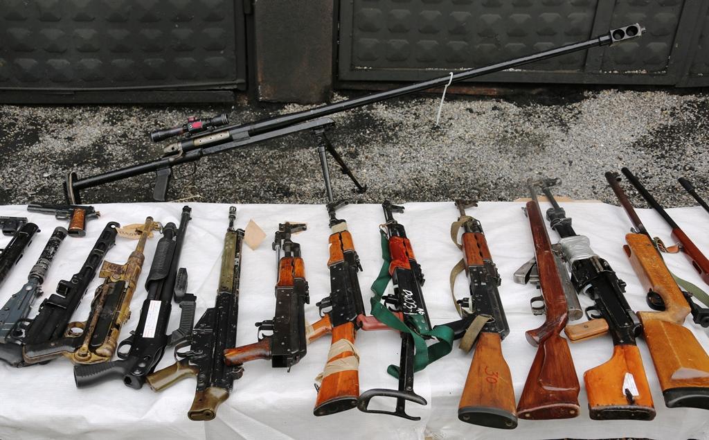 kosovska-policija-unistila-oko-600-komada-oruzja