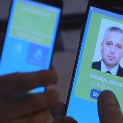 Kosovska vozačka dozvola na pametnom telefonu