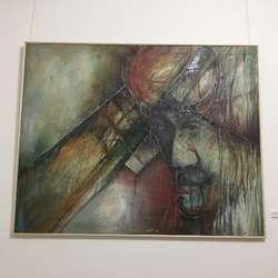 izlozba-slika-zvonka-pavlicica-u-gradskom-muzeju-kosovska-drama-u-crvenoj-i-zelenoj-boji